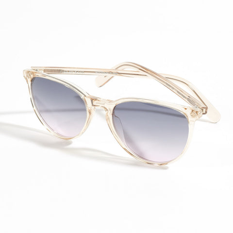 Hudson Sunglasses - Grey/Pink Gradient Lenses