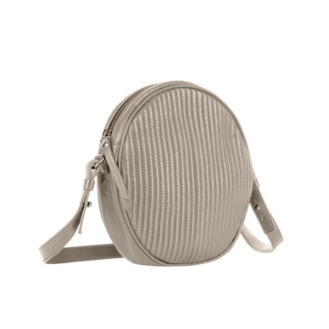 "Leather Cross-Body ""Mateo"" - Stone"