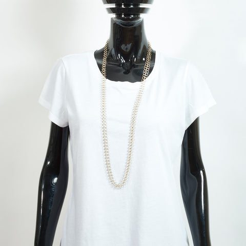 Mid Length Gold Chain Necklace - Medium Links