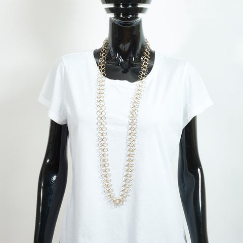 Long Gold Chain Necklace - XL Links