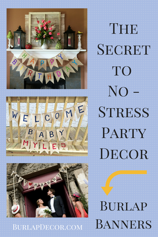 Secret to No-Stress Party Decor