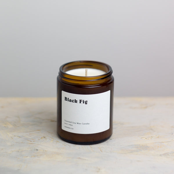 Black Fig - 180ml Soy Wax Candle
