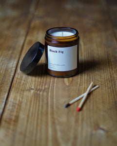 Black Fig Soy Wax Candle