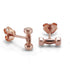 Mini Grand Dumbbell Stud Earrings