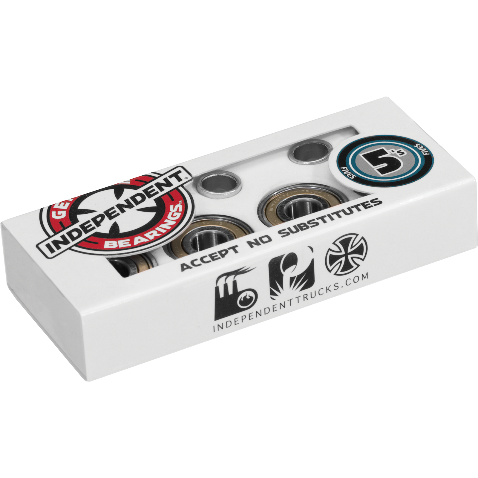 Independent 5s Abec-5 Sing Set Bearings