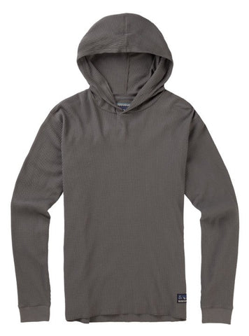 Burton Duntime Waffle Hooded Long Sleeve T Shirt