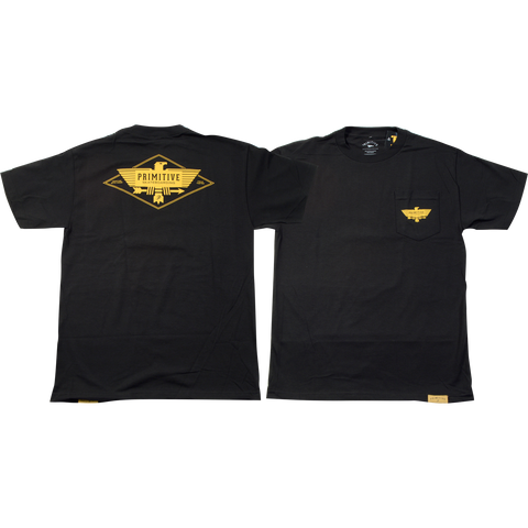 Primitive Thunder Bird Pocket Short Sleeve Tee