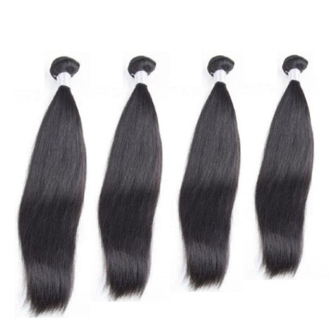 Hair-N-Paris Straight Premium Mixed Length 4 Bundle Set