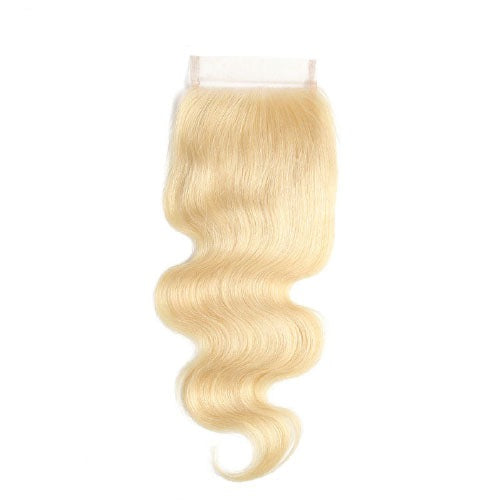 Hair-N-Paris blonde body wave closure
