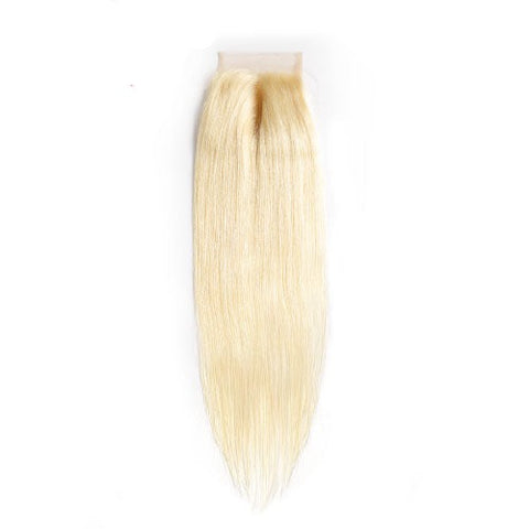 Hair-N-Paris blonde straight closure