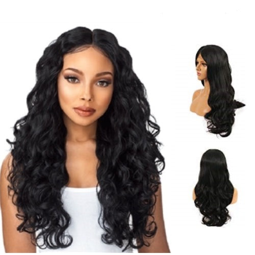 Hair-N-Paris Premium Body Wave Full Lace Human Hair Wig