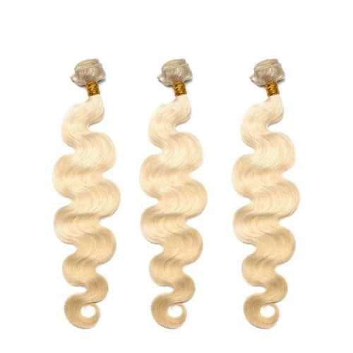 Hair-N-Paris Premium Russian Blonde Body Wave Mixed 3 Bundle Set