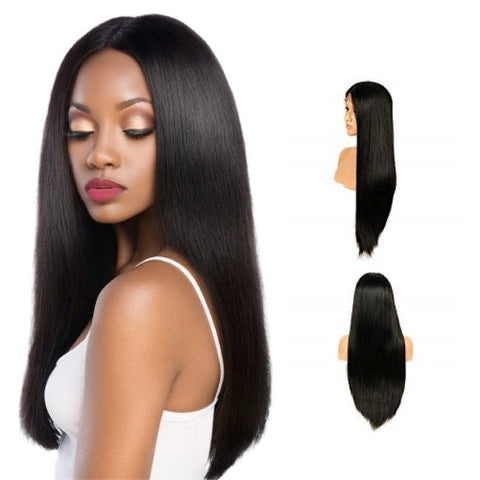 Hair-N-Paris Premium Straight Full Lace Human Hair Wig