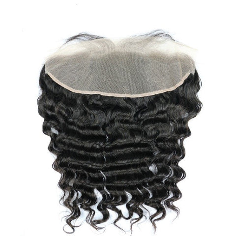 Hair-N-Paris Premium Illusion Single Full Lace Loose Wave Frontal back