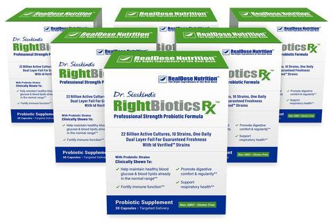 RightBiotics Rx 6 boxes Stock Up & Save