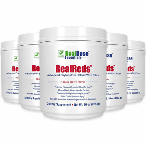 RealReds - 5 containers - $39 each