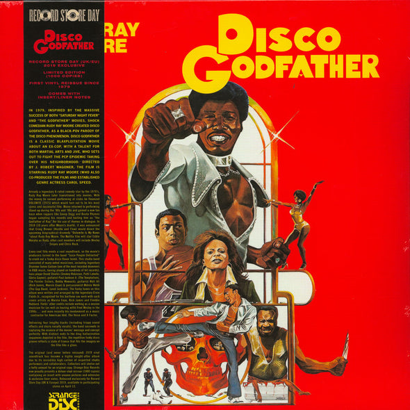 "RUDY RAY MOORE - ""Disco Godfather"" LP"