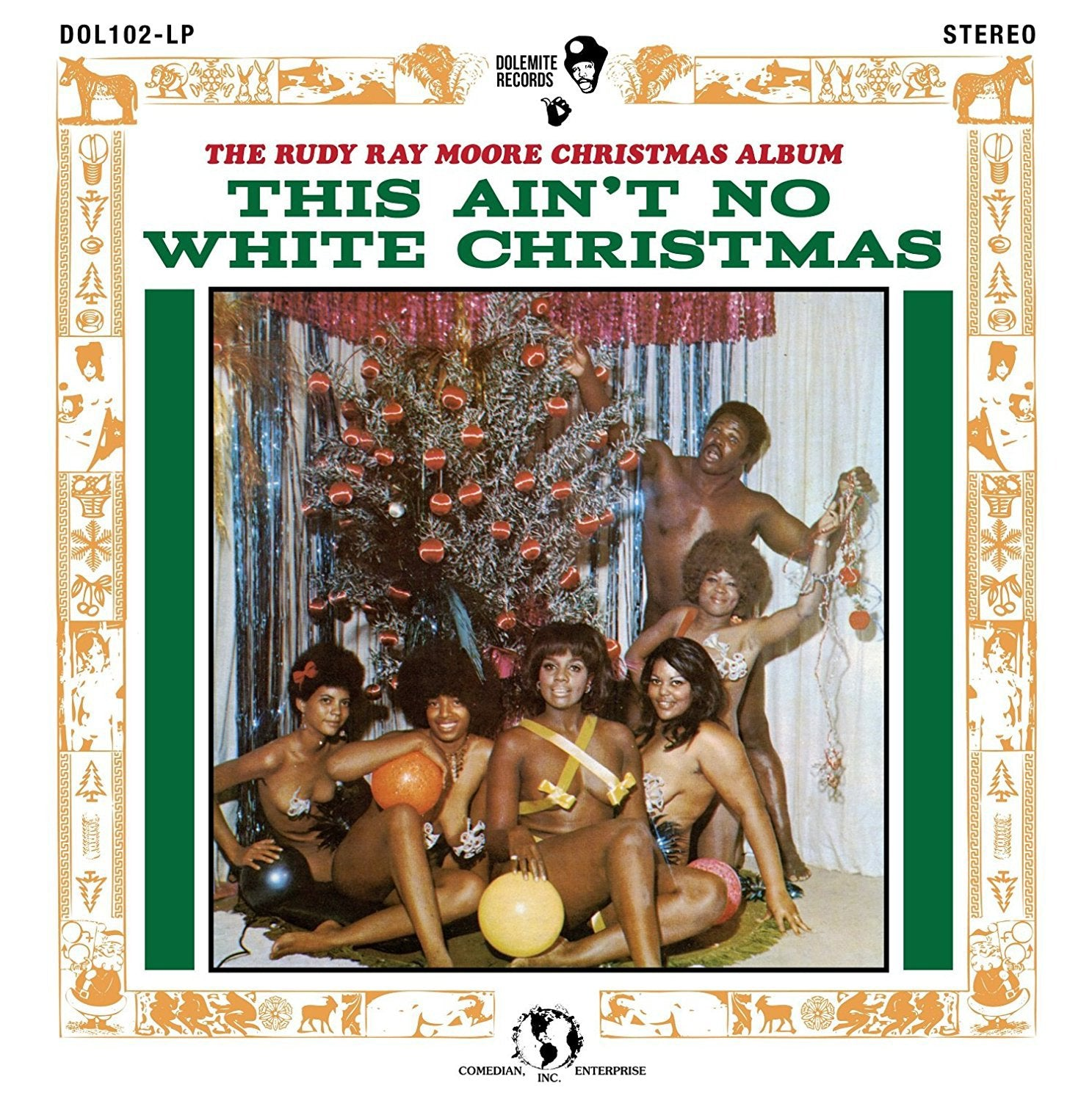 "RUDY RAY MOORE - ""THIS AIN'T NO WHITE CHRISTMAS"" LP - RECORD STORE DAY EDITION"
