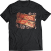 "AC/DC ""T.N.T."" AUSTRALIAN ALBUM COVER SPECIAL EDITION T-SHIRT IN T.N.T. STICK & CRATE"