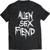"ALIEN SEX FIEND ""LOGO"" T-SHIRT"