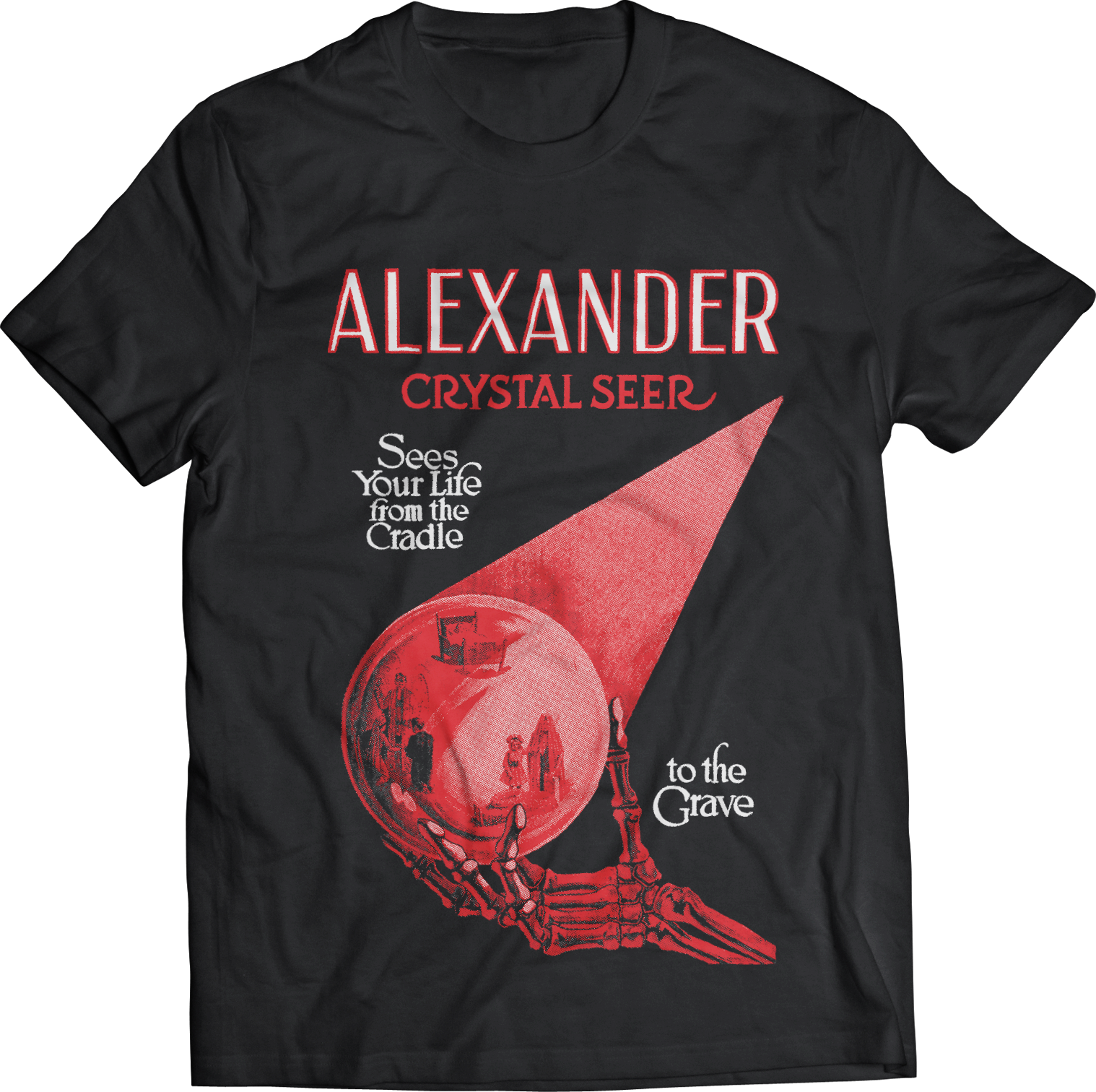 "ATOM AGE: ""ALEXANDER THE CRYSTAL SEER"" T-SHIRT"