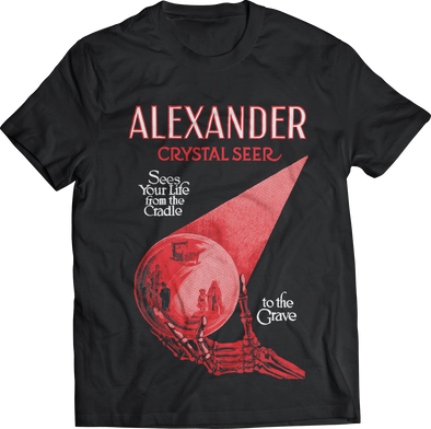 "ATOM AGE ""ALEXANDER THE CRYSTAL SEER"" T-SHIRT"