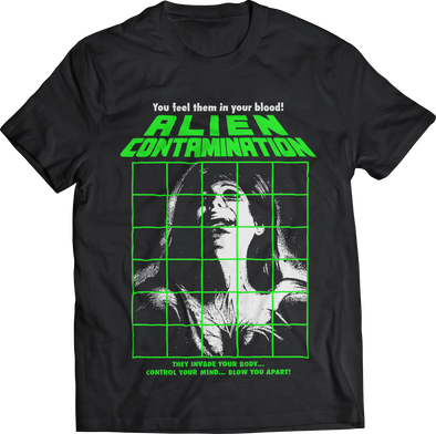 "LUIGI COZZI'S ""CONTAMINATION"" T-SHIRT"