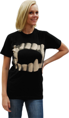 ATOM AGE: VAMPIRE TEETH T-SHIRT