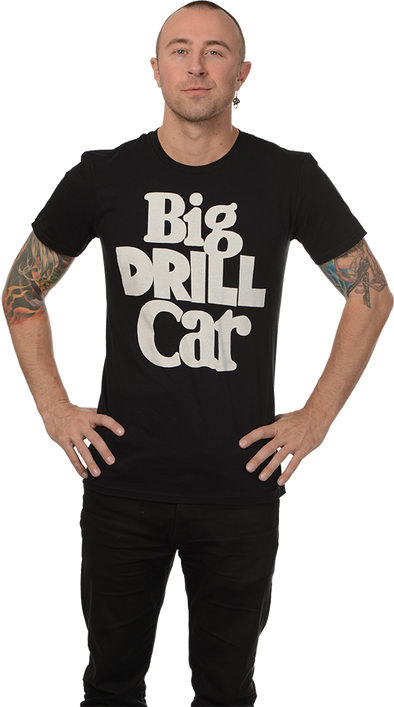 "BIG DRILL CAR: ""LOGO & DOG"" T-SHIRT"