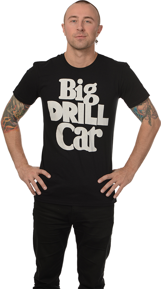"BIG DRILL CAR ""LOGO & DOG"" T-SHIRT"