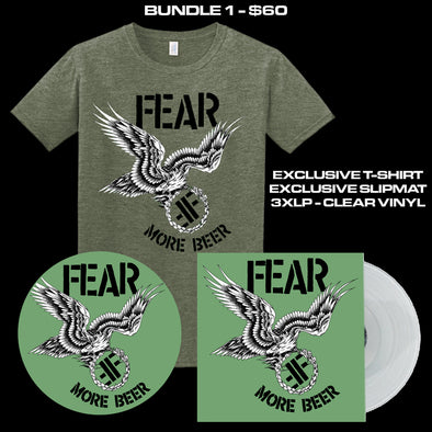 "FEAR - ""MORE BEER"" 35TH ANNIVERSARY LIMITED EDITION BUNDLE 1"