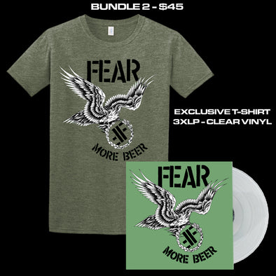 "FEAR - ""MORE BEER"" 35TH ANNIVERSARY LIMITED EDITION BUNDLE 2"