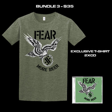 "FEAR - ""MORE BEER"" 35TH ANNIVERSARY LIMITED EDITION BUNDLE 3"