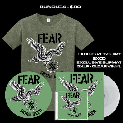 "FEAR - ""MORE BEER"" 35TH ANNIVERSARY LIMITED EDITION BUNDLE 4"