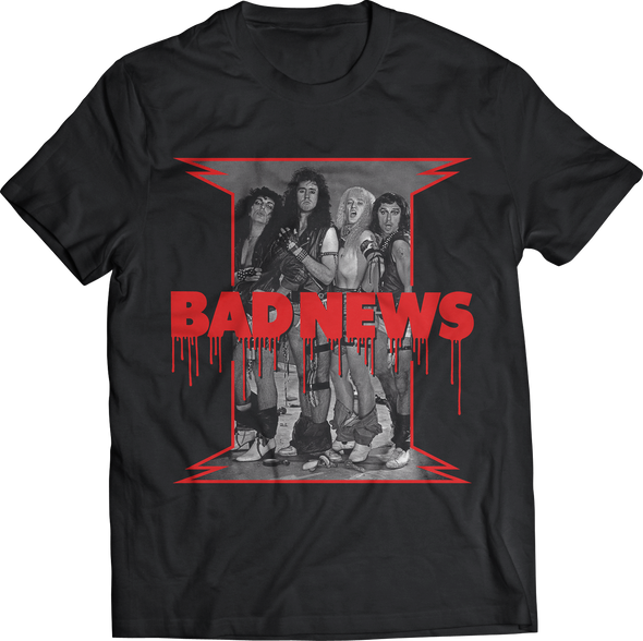"BAD NEWS: ""BAND PHOTO"" T-SHIRT"