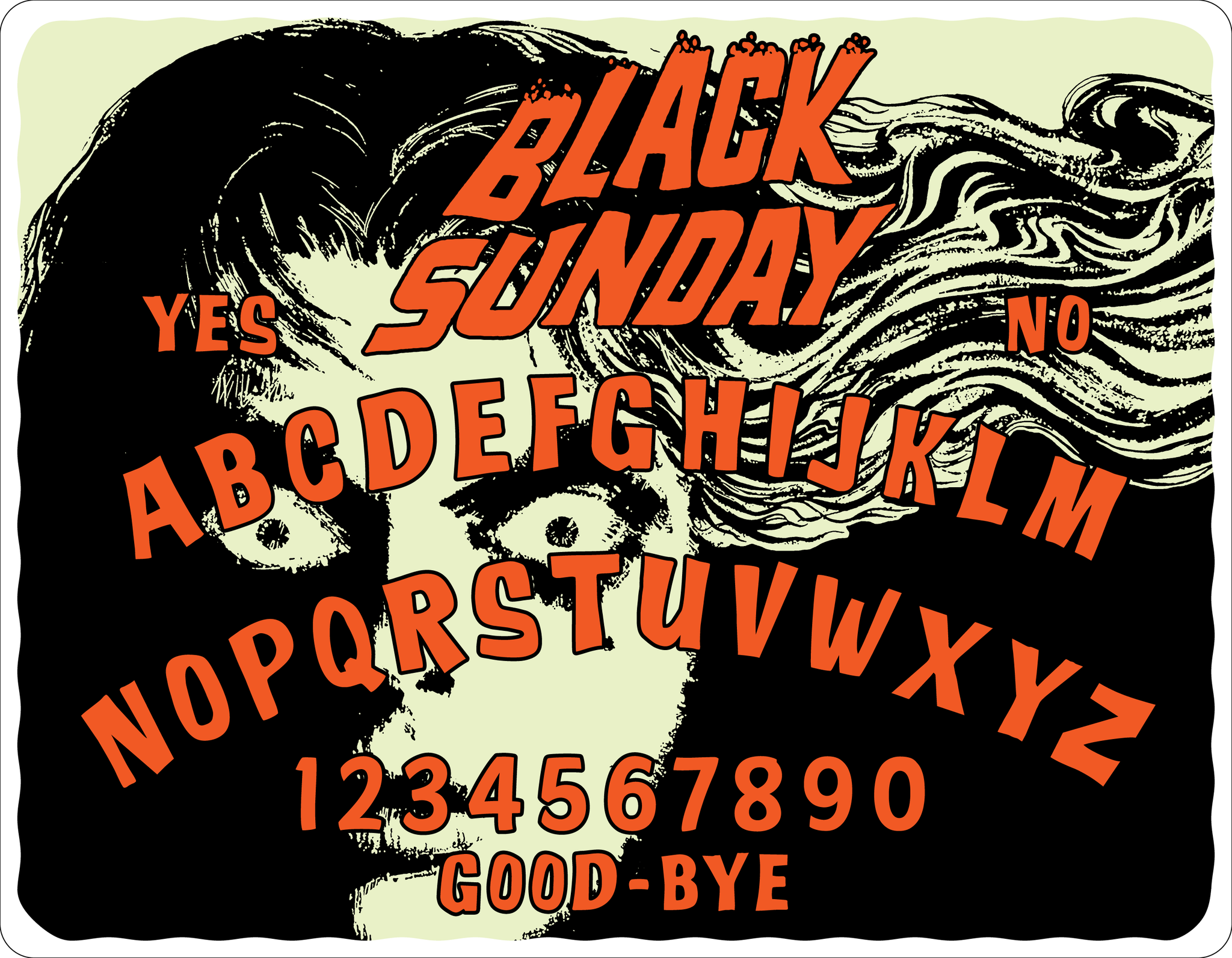 "MARIO BAVA'S ""BLACK SUNDAY"" -  LIMITED EDITION SPIRIT BOARD"
