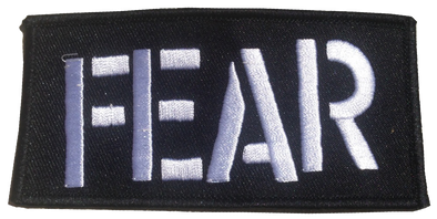 FEAR 'LOGO' EMBROIDERED PATCH
