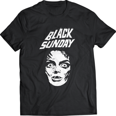 "MARIO BAVA'S ""BLACK SUNDAY"" FACE T-SHIRT"