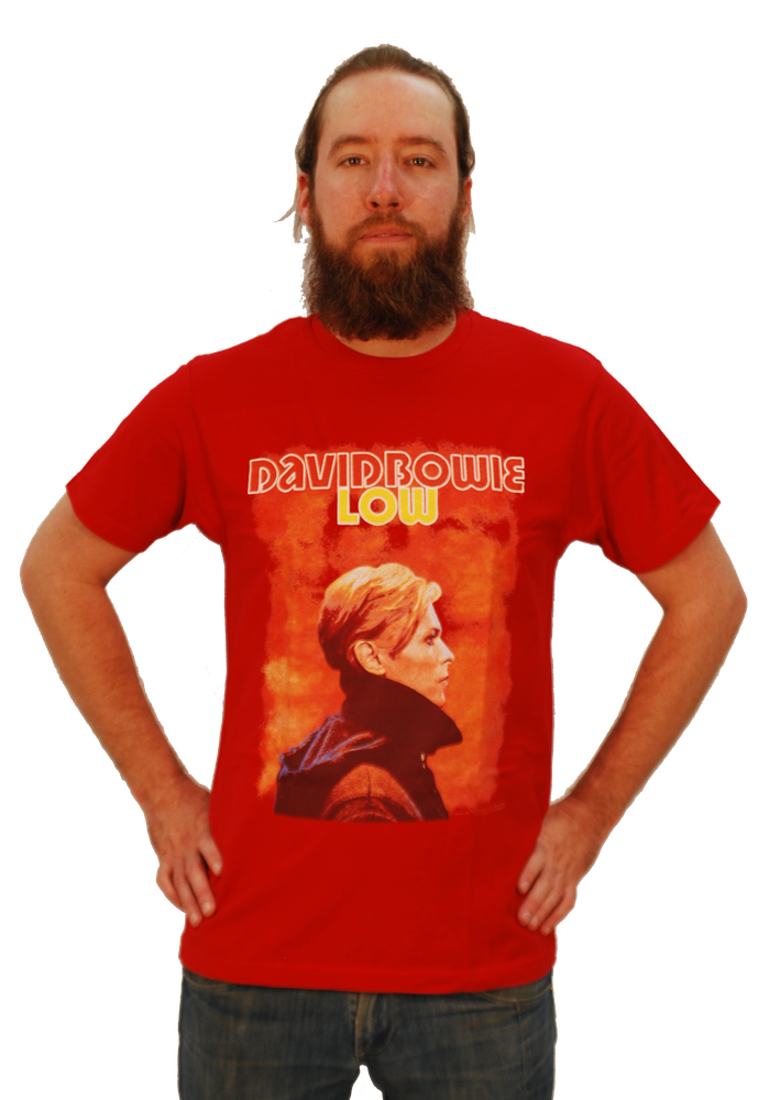 "DAVID BOWIE ""LOW"" T-SHIRT"