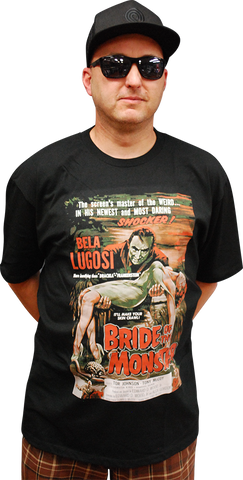 ATOM AGE:  BRIDE OF THE MONSTER T-SHIRT