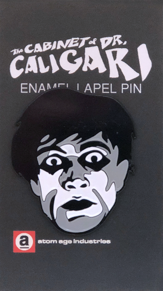 THE CABINET OF DR. CALIGARI ENAMEL PIN