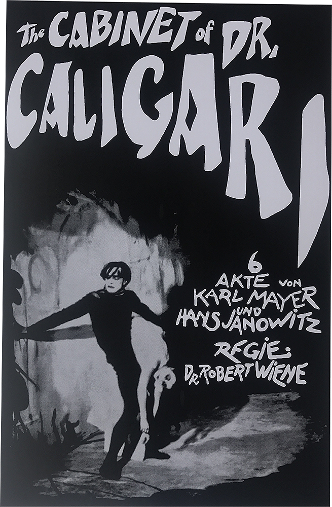 THE CABINET OF DR. CALAGARI MOVIE POSTER