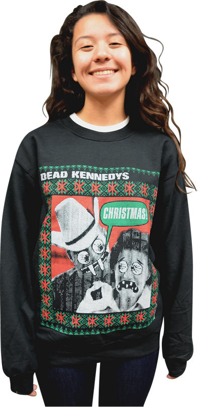 "DEAD KENNEDYS ""CHRISTMAS!"" UGLY CHRISTMAS SWEATER"
