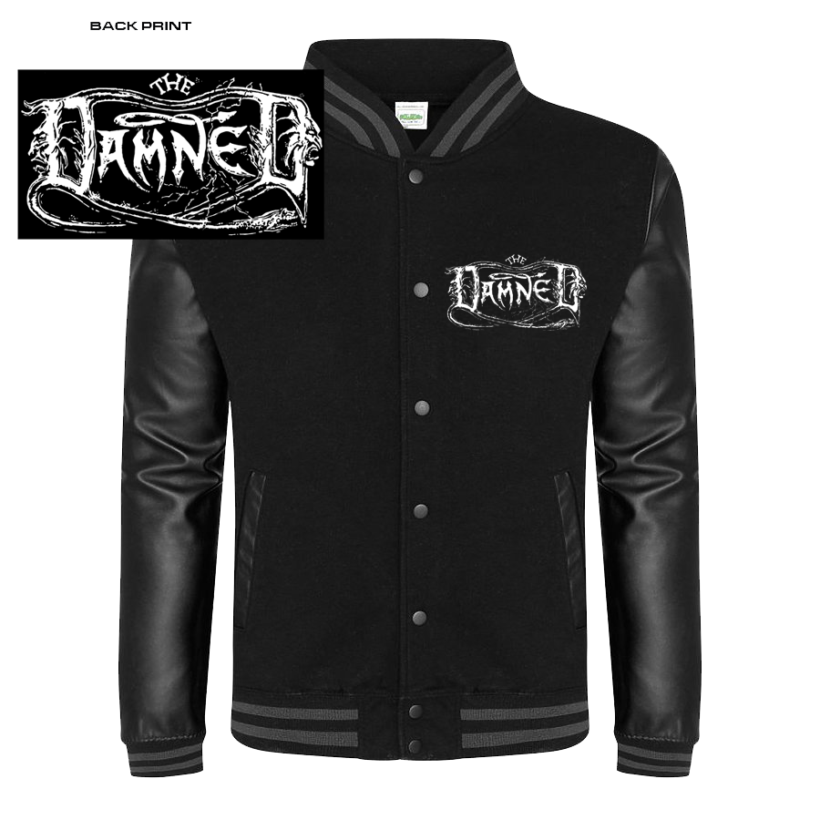 "DAMNED ""THE BLACK ALBUM"" LETTERMAN JACKET"