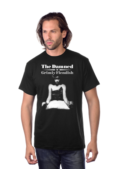 "DAMNED: ""GRIMLY FIENDISH"" T-SHIRT"