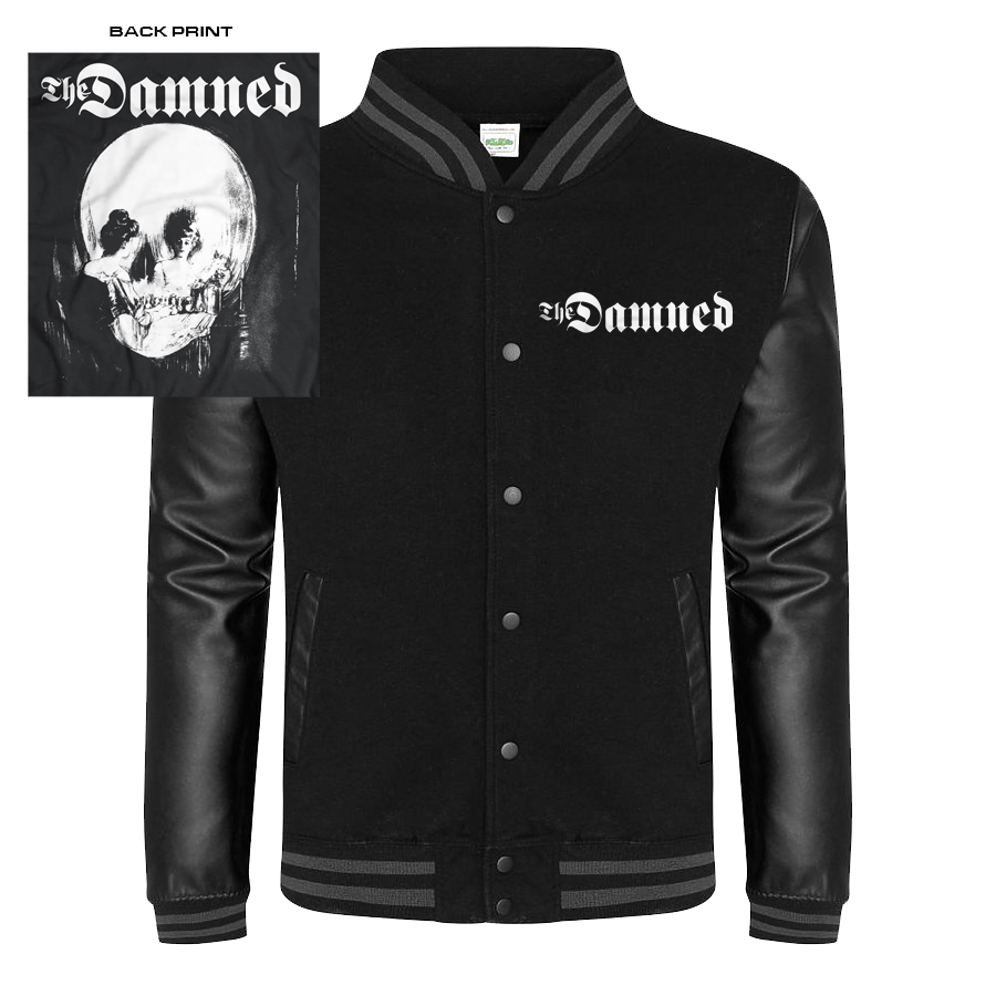 "DAMNED ""STRETCHER CASE"" LETTERMAN JACKET"