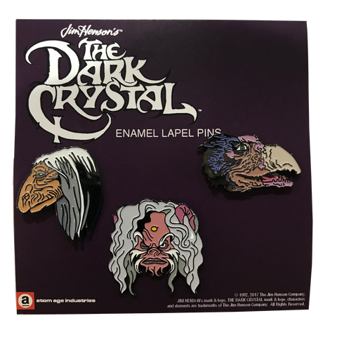 DARK CRYSTAL ENAMEL PIN SET
