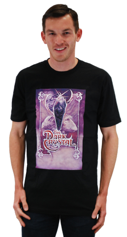 "DARK CRYSTAL ""PURPLE CRYSTAL"" POSTER T-SHIRT"