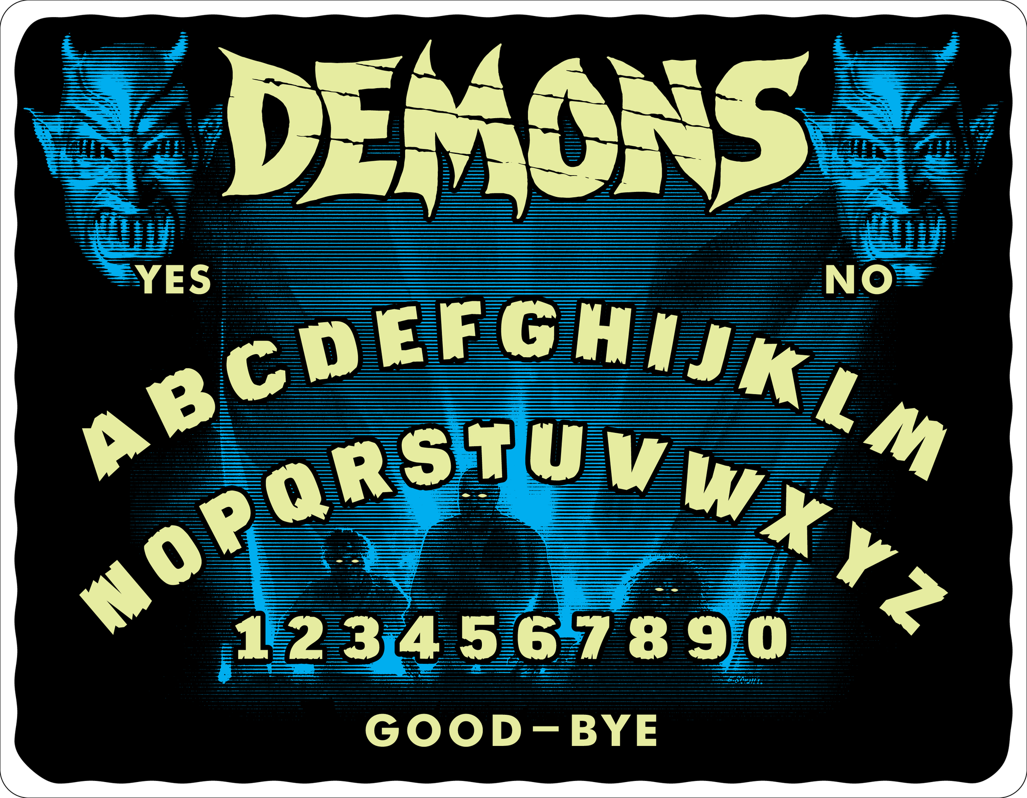 "LAMBERTO BAVA'S ""DEMONS"" -  LIMITED EDITION SPIRIT BOARD"