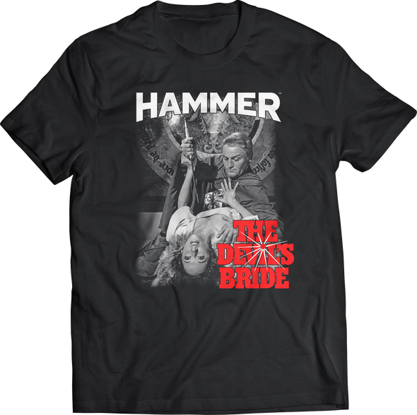 "HAMMER FILMS: ""THE DEVIL'S BRIDE - SACRIFICE"" T-SHIRT"